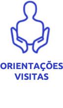 orientações aos visitantes